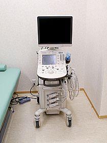 エコー 超音波検査機器の写真