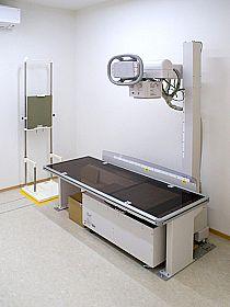 レントゲン機器の写真